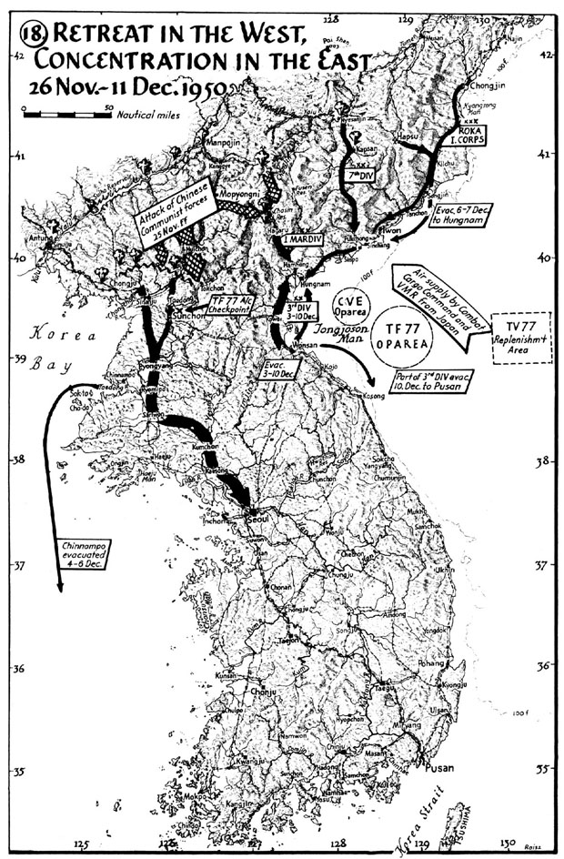 MAP Retreat In The West Concentration In The East - Us maps navy