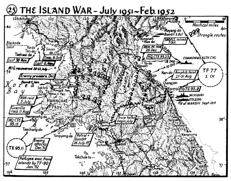 MAP The Island War July February - Us maps navy