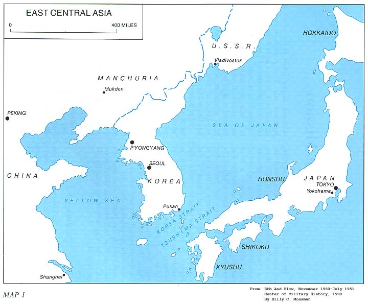 Map Of Asia 1950.Map 1 East Central Asia