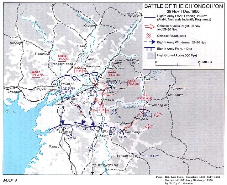 Korean War Project Maps